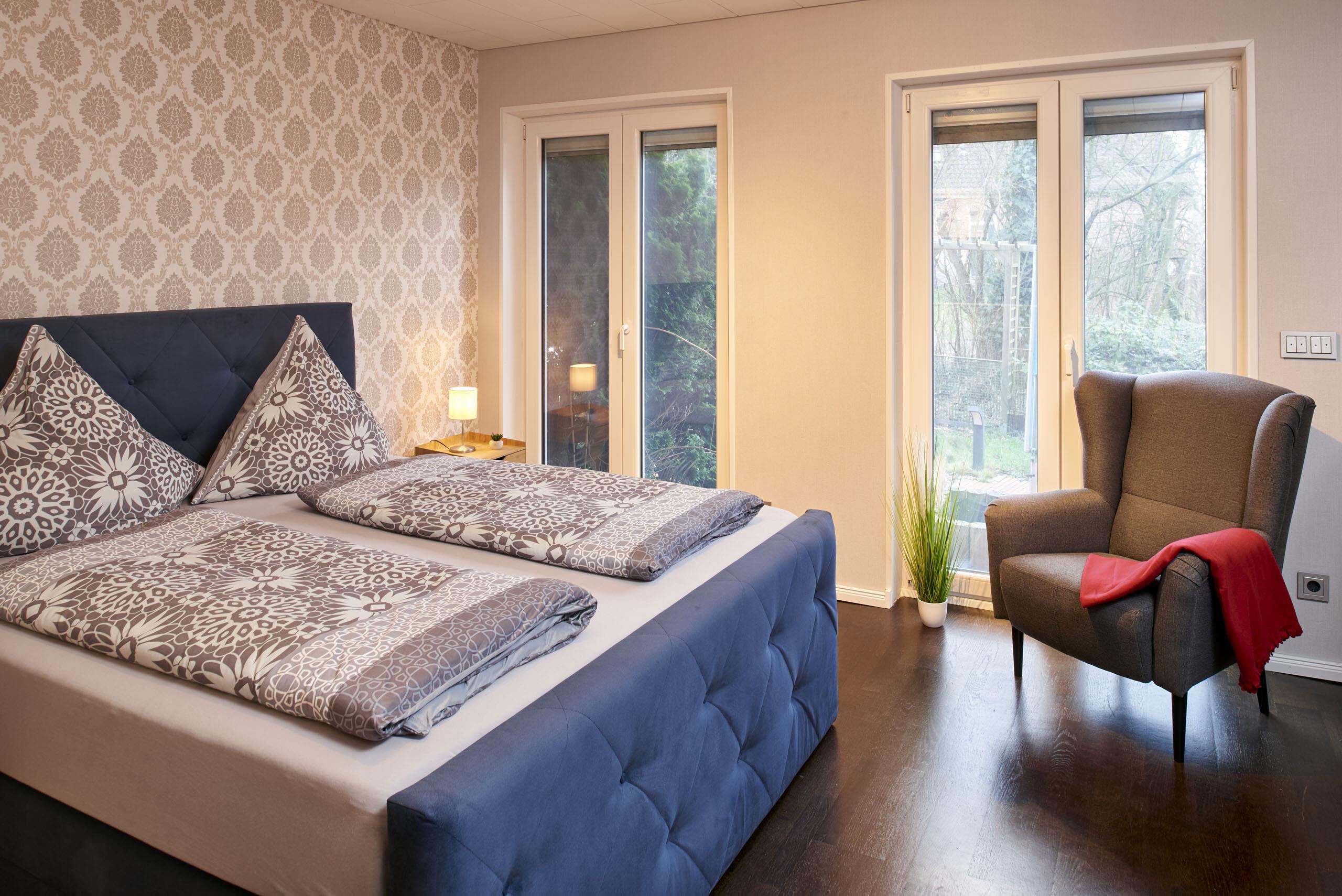 Schlafzimmer Kunstapartment